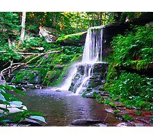 Diamond Falls Photographic Print
