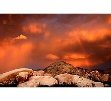 Desert Storm Photographic Print