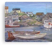 Peggy's Cove, Nova Scotia Canvas Print
