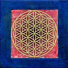 Sacred Geometry - The Flower of Life by amira