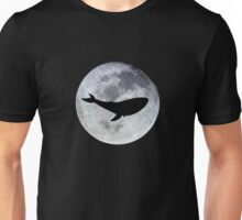 The Whale In The Moon Unisex T-Shirt
