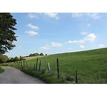 """Scenic German Countryside """"Bergisches Land"""" Photographic Print"""