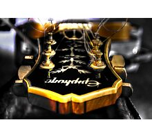 Gibson Epiphone Photographic Print