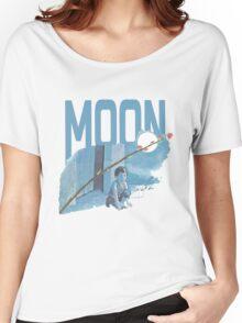 Moon T-Shirt Women's Relaxed Fit T-Shirt