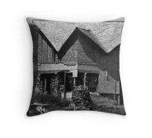 Danny Bates House Manana Island Maine Throw Pillow