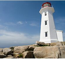 Peggys Cove Lighthouse Photographic Print