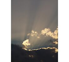 Rays of Light Photographic Print