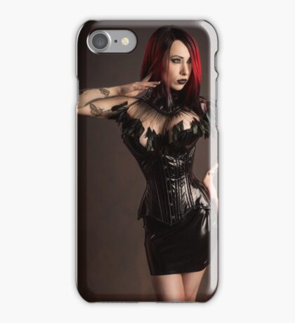 Corseted Model iPhone Case/Skin