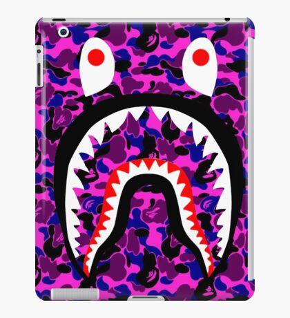BAPE SHARK PURPLE iPad Case/Skin