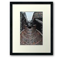 Museo del Templo Mayor  Framed Print