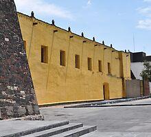 La plaza de las Tres culturas  by Farah McLennan