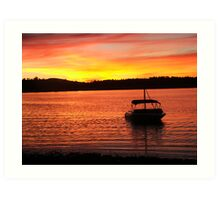 At the End of the Day Art Print
