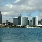 Downtown SanDiego by Leonard Flagg