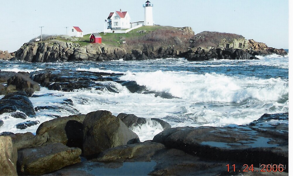 Nubble Light by kmulcahy