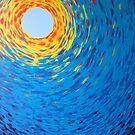 Swarm Impressionist Painting by Melisa Fales