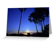 Sunrise in Paradise NT Greeting Card