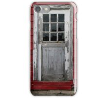 Old Cider Mill Door iPhone Case/Skin
