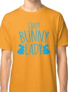 CRAZY Bunny lady Classic T-Shirt