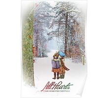 All Hearts Come Home for Christmas Poster