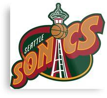 Seattle Supersonics Metal Print