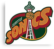 Seattle Supersonics Canvas Print