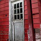 Door to Cider Mill by Pamela Burger