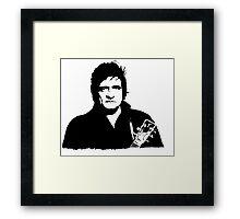 Johnny cash:Classic edition Framed Print