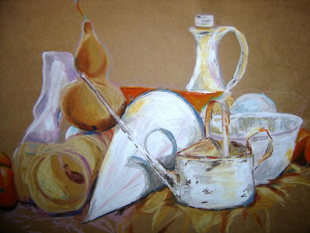 Still Life Mixed Media by Marilyn Brown