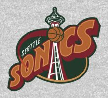 Seattle Supersonics by nfydesigns