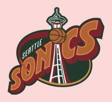Seattle Supersonics Kids Clothes