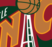 Seattle Supersonics Sticker
