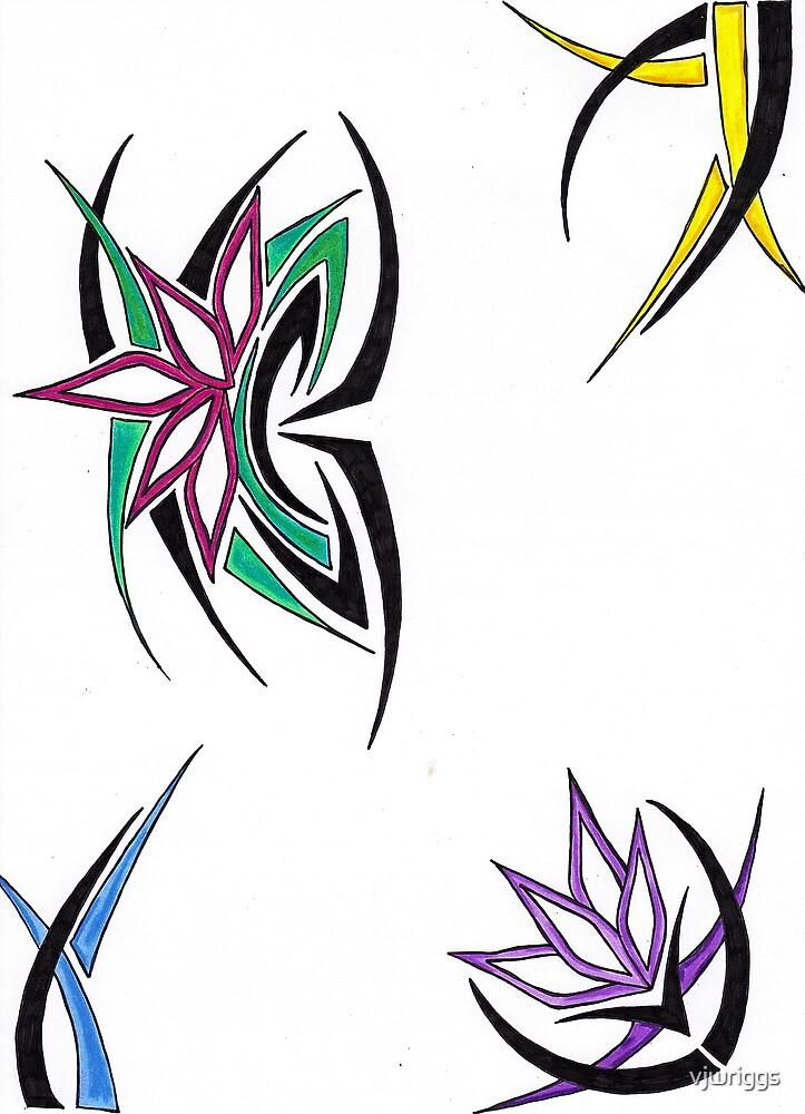 Flowing Spikes by vjwriggs