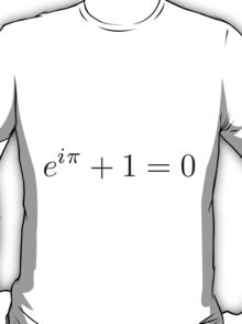 The Beautiful Equation: Euler's Identity T-Shirt