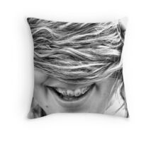 Hair (part 2) Throw Pillow