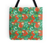 Nutty Squirrel Pattern  Tote Bag