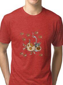 Snorkel Doggy Tri-blend T-Shirt