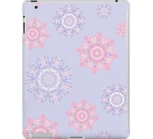 Colorful snowflakes iPad Case/Skin