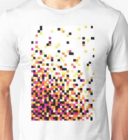 Dissipating Pixels in Gel Pen Unisex T-Shirt