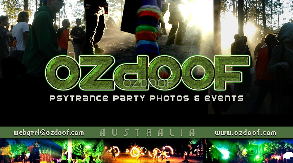 ozdoof business card by OZDOOF