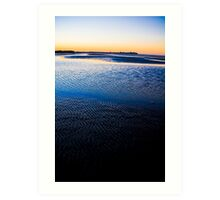 Sunset at Nudgee Art Print