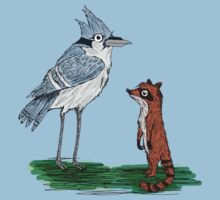 Mordecai and Rigby by lillymanion