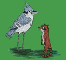 Mordecai and Rigby One Piece - Short Sleeve