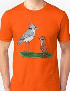 Mordecai and Rigby Unisex T-Shirt