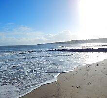 Winter Sunshine on Swanage Bay by sammiejayjay