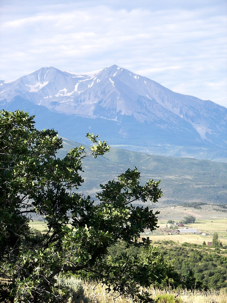 Mount Sopris by eclectickimmer