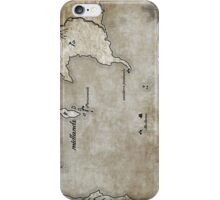 Map - Caged: Love and Treachery on the High Seas iPhone Case/Skin
