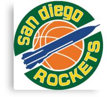 San Diego Rockets Canvas Print