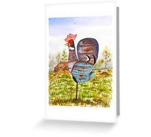 REDNECK ROOSTER Greeting Card