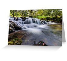 Mountian Water Greeting Card