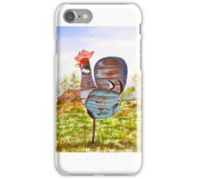 REDNECK ROOSTER iPhone Case/Skin